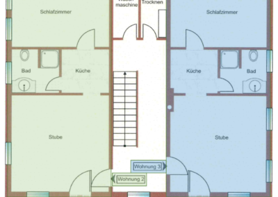 Appartement 2 und 3